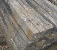 Продаются деревянные шпалы на дрова.. Кривой Рог. фото 1