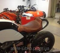 Перетяжка сидения мотоцикла Киев. Киев. фото 1