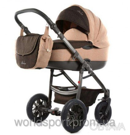 Детская коляска Tako AMBRE LEN 02 темно бежевый-коричневый.  Детская коляска 2. Херсон, Херсонская область. фото 1