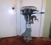 Продам мотор лодочный Стрела в рабочем состоянии. Чернигов. фото 1