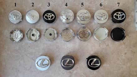 Ступичные колпачки в диски (заглушки в диски) Toyota. Киев. фото 1