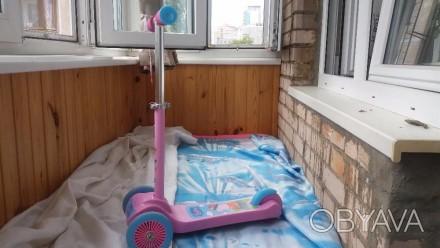 Детский лицензионный трехколесный скутер Peppa - это невероятно яркий, стильный . Киев, Киевская область. фото 1