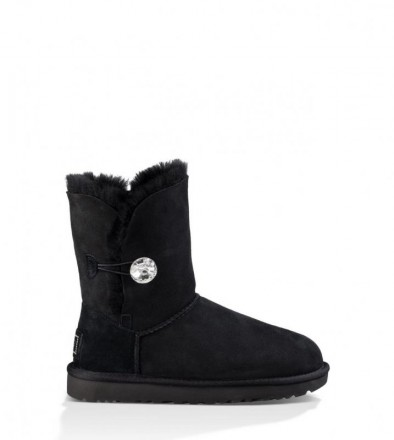 Женские угги UGG Australia Bailey Button Bling Black. Киев. фото 1