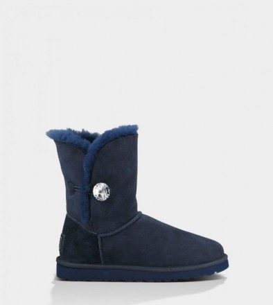 Женские угги UGG Australia Bailey Button Bling Blue. Киев. фото 1