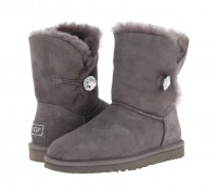 UGG (Угги) Bailey Button Bling Grey. Киев. фото 1