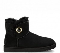 UGG (Угги) Bailey Button Ornate Black. Киев. фото 1