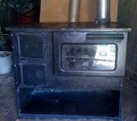 Печь-камин для обогрева помещений, для приготовления пищи. Мощность 9 квт. Стиль. Киев, Киевская область. фото 5