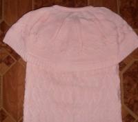 Свитер-водолазка на девочку нежно-розового цвета с жилеткой. Длина свитера - 45 . Кривий Ріг, Дніпропетровська область. фото 6