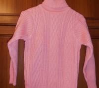 свитер на девочку 6-7 лет, в отличном состоянии, длина изделия - 45 см, длина ру. Кривой Рог, Днепропетровская область. фото 2
