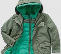 Куртка для мальчика Vertbaudet 2 в одном: куртка + жилетка: - размер на рост 13. Киев, Киевская область. фото 2