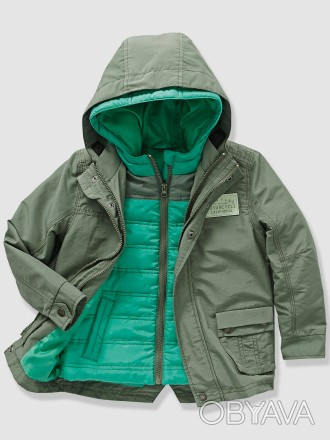 Куртка для мальчика Vertbaudet 2 в одном: куртка + жилетка: - размер на рост 13. Київ, Київська область. фото 1