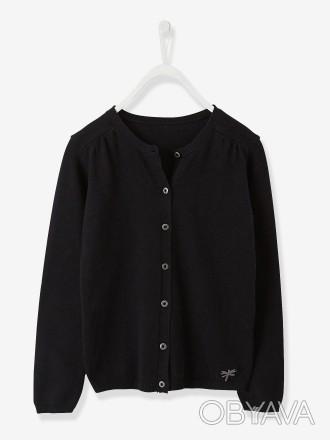 Кардиган для девочки (вместо пиджака в школу) Vertbaudet: - размер на 8, 10, 14. Киев, Киевская область. фото 1