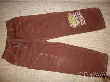 Штанишки Gee Jay,внутри на подкладке (не флиска,плотный хлопок). Рост указан 11. Одесса, Одесская область. фото 1