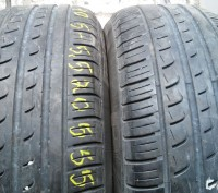 Шины лето Pirelli P7 205/55R16 2 штуки.. Киев. фото 1