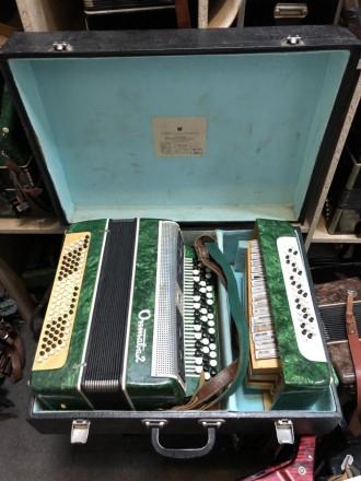 · Количество кнопок левой клавиатуры (Басы): 5 рядов, 100 шт · Количество кнопок. Чернигов, Черниговская область. фото 9