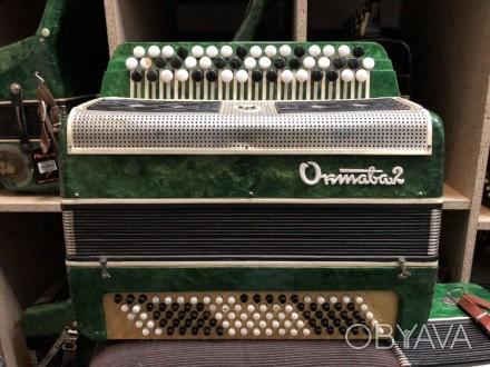 · Количество кнопок левой клавиатуры (Басы): 5 рядов, 100 шт · Количество кнопок. Чернигов, Черниговская область. фото 1