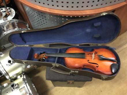 Размеры: Длина: 80см Ширина у Деки:24см Высота: 11см Прочный футляр для скрип. Чернигов, Черниговская область. фото 2