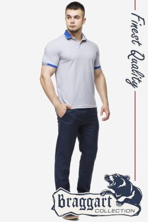 Braggart рубашка поло мужская 6618 цвета. Киев. фото 1