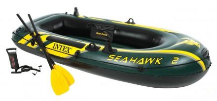 Характеристика:Производитель: Intex.Тип: лодка.Цвет: зелёный.Серия: Seahawk.. Харьков, Харьковская область. фото 2
