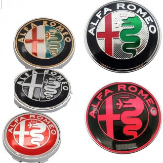 Alfa Romeo заглушки, колпачки на колесные диски. Киев. фото 1