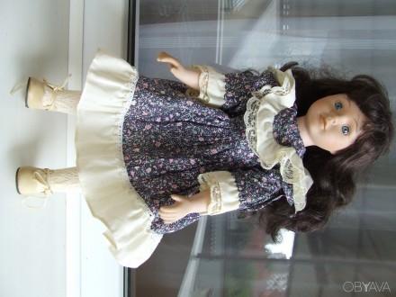 Кукла фарфоровая германя колекционая.  №А0330 Промеланд  Беатрич раз.42х15см.. Ужгород. фото 1