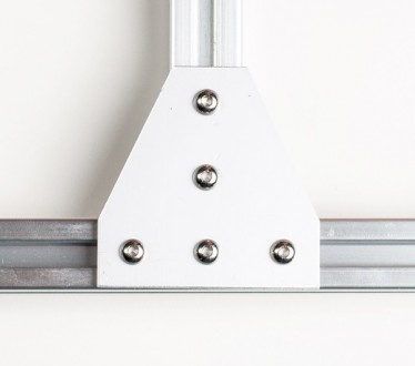 Алюмінієвий елементи пластина Т-образна для профілю 30х30. Товщина 4мм, габарит . Львов, Львовская область. фото 2