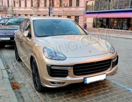 Обвес TURBO Porsche Cayenne 958 2015 2016 2017.. Киев. фото 1
