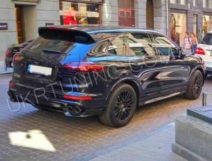 Обвес TURBO Porsche Cayenne 958 2015 2016 2017.. Киев, Киевская область. фото 4