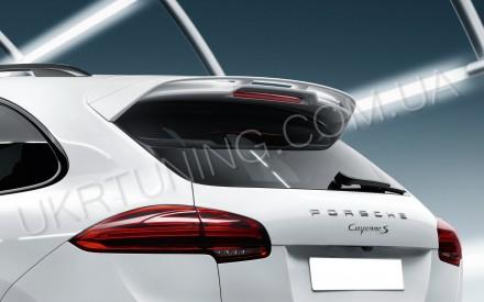 Спойлер GTS Porsche Cayenne 958 2014 2015 2016 2017.. Киев. фото 1