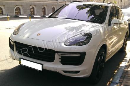 Передний бампер GTS Porsche Cayenne 958 2014 2015 2016 2017. Новый, в сборе.. Киев, Киевская область. фото 10