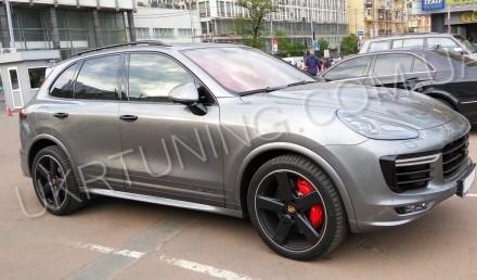 Передний бампер GTS Porsche Cayenne 958 2014 2015 2016 2017. Новый, в сборе.. Киев, Киевская область. фото 12