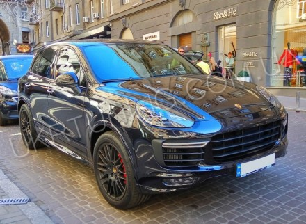 Передний бампер GTS Porsche Cayenne 958 2014 2015 2016 2017. Новый, в сборе.. Киев, Киевская область. фото 6