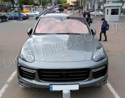Передний бампер GTS Porsche Cayenne 958 2014 2015 2016 2017. Новый, в сборе.. Киев, Киевская область. фото 8