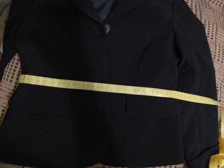 Пиджак школьный для девочки. Размеры на фото. На подкладке. В идеальном состояни. Дніпро, Дніпропетровська область. фото 6