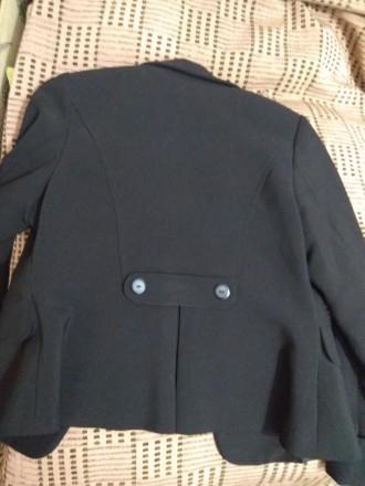 Пиджак школьный для девочки. Размеры на фото. На подкладке. В идеальном состояни. Дніпро, Дніпропетровська область. фото 3