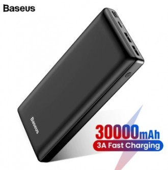 Лучший Power Bank BASEUS 30.000 mAh QC 3.0 (повер банк лучше Xiomi). Чернигов. фото 1