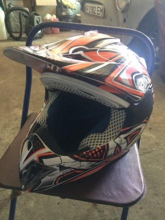 Мото шлем AIROH подростковый. Мелитополь. фото 1
