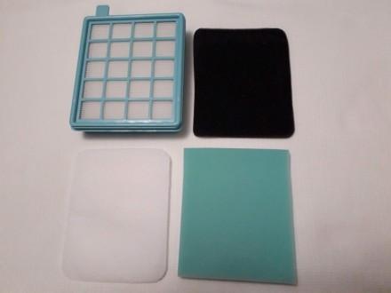 Набор сменных фильтров для пылесоса Philips Цена за комплект В комплекте: фильтр. Львов, Львовская область. фото 3