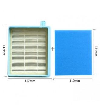 Набор сменных фильтров для пылесоса Philips Цена за комплект В комплекте: фильтр. Львов, Львовская область. фото 10