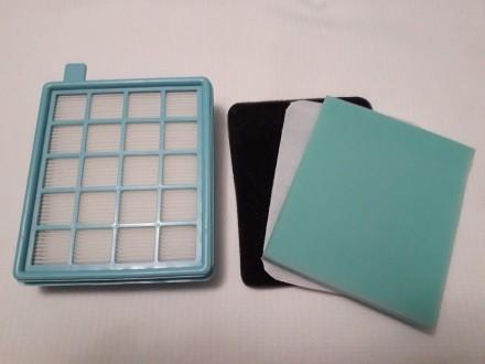 Набор сменных фильтров для пылесоса Philips Цена за комплект В комплекте: фильтр. Львов, Львовская область. фото 2