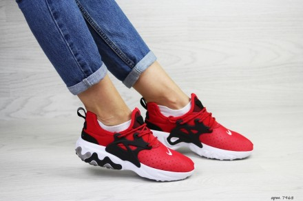 418a864c6ea076 Nike Presto React кроссовки женские демисезонные красные 7968. 950 ГРН