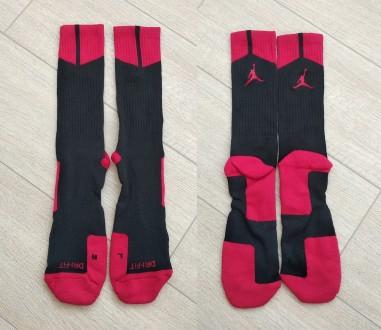 Баскетбольні шкарпетки Jordan nike носки баскетбол футбол. Хмельницкий. фото 1