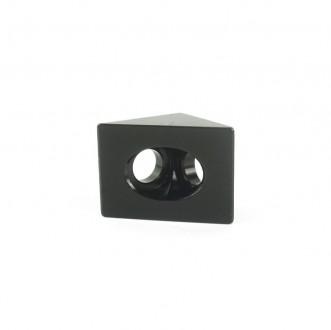 Кутовий з'єднувач 20x20, чорний (угловой соединитель). Львов. фото 1