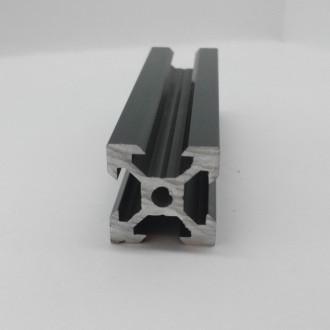 Алюмінієвий профіль 20х20 V-slot, анадований, чорний, порізка. Львов. фото 1