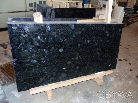 Гранитные слябы – основной вид заготовок материала, которые используются в камне. Коростышев, Житомирская область. фото 1