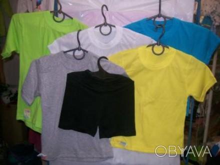 трикотажную продукцию (цена от производителя):шорты от 25грн,футболки детские и . Днепр, Днепропетровская область. фото 1