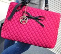 Большая стильная осенняя женская розовая сумка из текстиля стеганной текстуры  . Запорожье, Запорожская область. фото 3