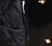 Большая стильная осенняя женская розовая сумка из текстиля стеганной текстуры  . Запорожье, Запорожская область. фото 6