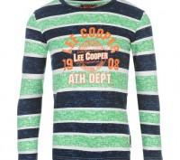 Lee Cooper Textured All Over Print Long Sleeve T Shirt Junior Возраст 9-10 лет.. Запоріжжя, Запорізька область. фото 2