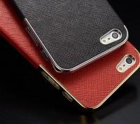 Элегантный золотистый чехол OYO Gold кожа PU с велюром для iPhone 4 4S 5 5S SE . Запорожье, Запорожская область. фото 3